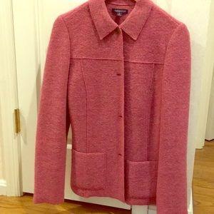 Lands End pink wool jacket, 6T